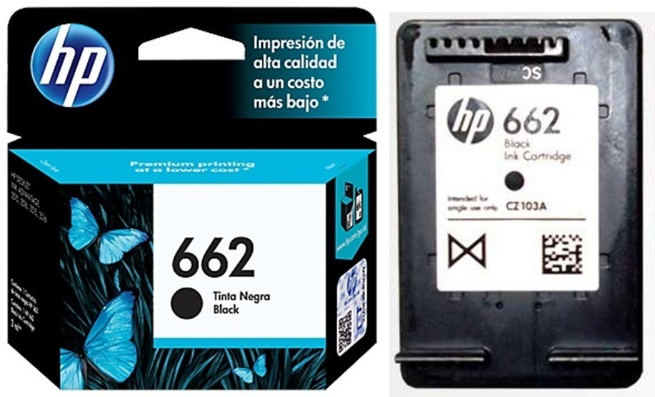 CAT NEGRO HP 662