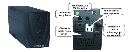 UPS Nicomar Micronet